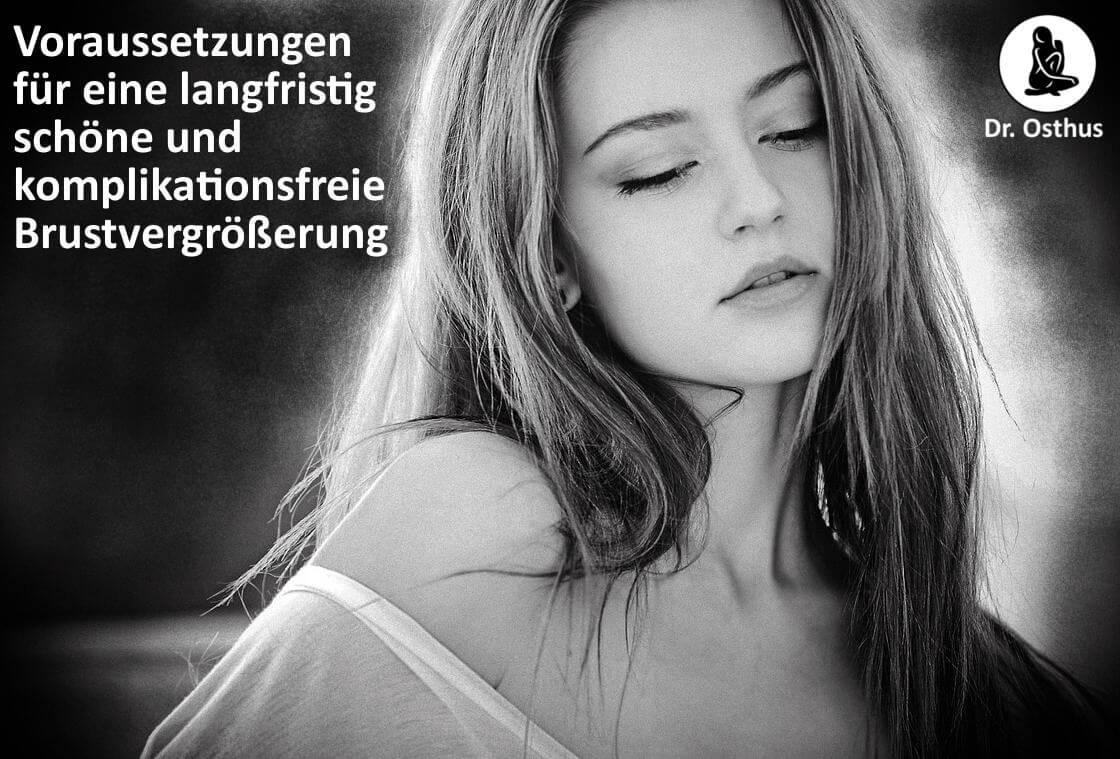 langfristig schönes und komplikationsfreie Brustvergrößerung