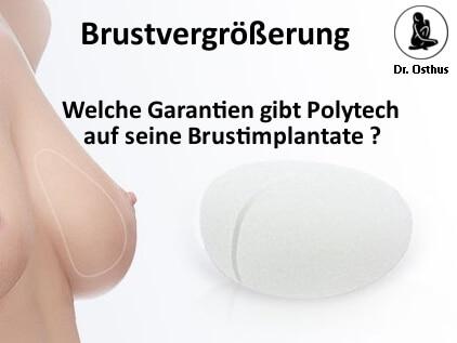 Garantieprogramm für Brustimplantate von Polytech